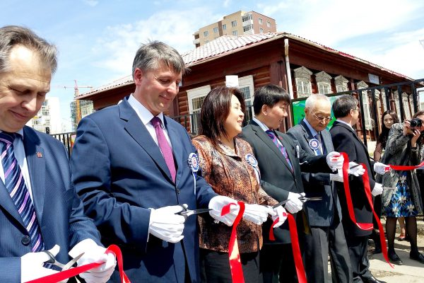 Открытие улицы Рерихов