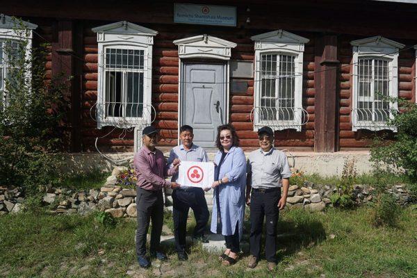 Знамя Мира в Монголии
