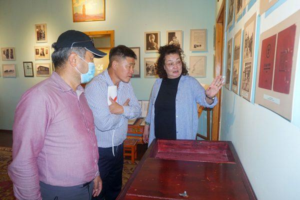 Экскурсия по Дому-музею Рерихов в Улан-Баторе