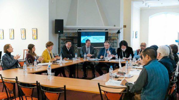 Круглый стол «Права музеев – Пакт Рериха и Декларация прав культуры Лихачёва»