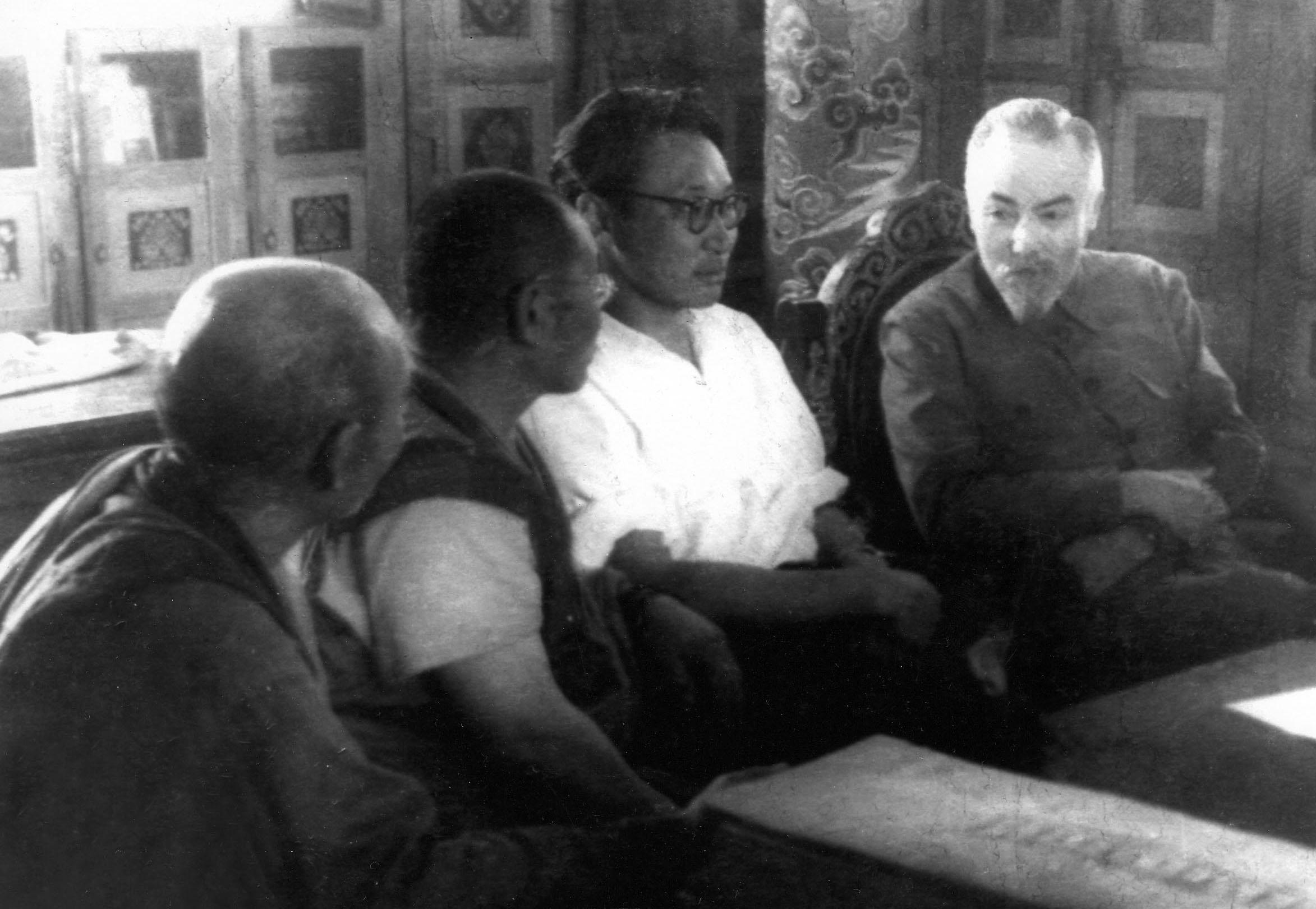 Ю.Н.Рерих и Ш.Бира